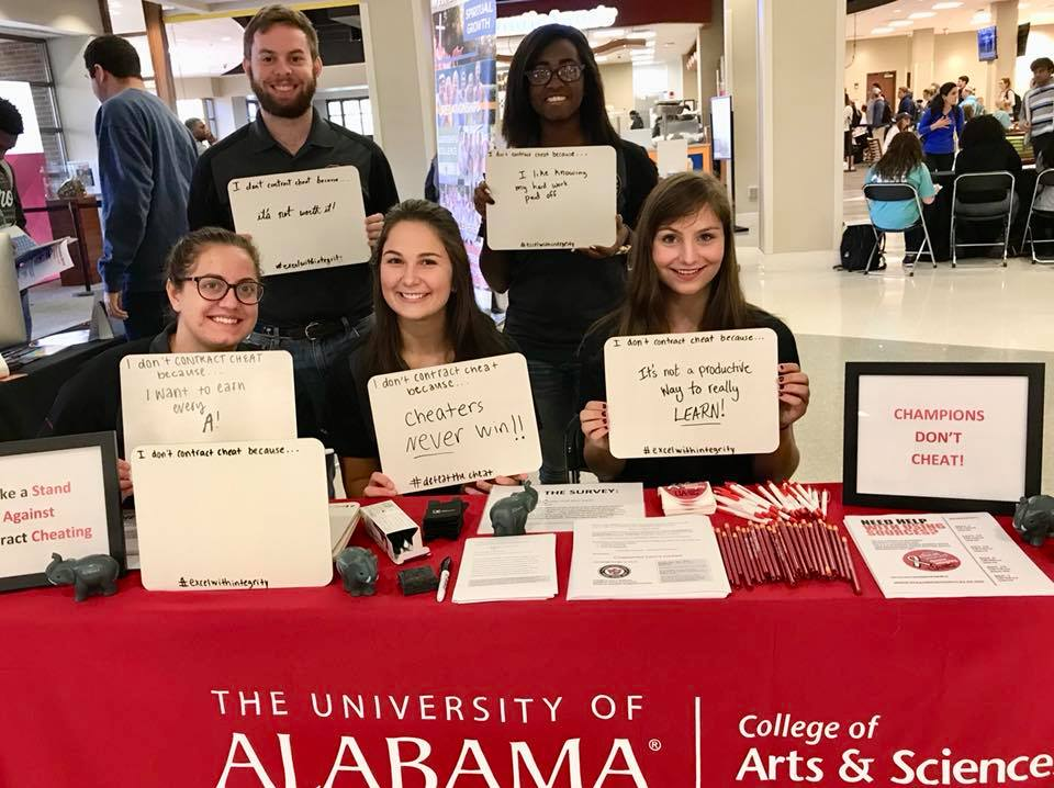 A & S AHC Table at the Ferg